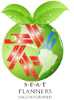 SEAT Planners Inc. Green logo